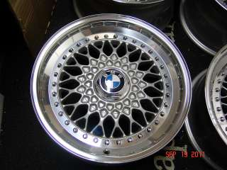 BBS RS Wheels Rims BMW E9 E24 E28 E30 535i 635csi M3 M5 M6 2800cs 3