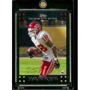 2007 Topps Football # 154 Samie Parker   Kansas City Chiefs   NFL