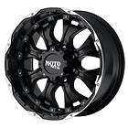 18 inch Black wheels rim MOTO METAL 959 Chevy Gmc Dodge 2500 3500 8