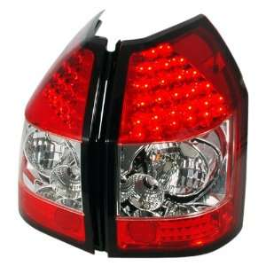 Redlines TL DMAG05 LED RC Red/Clear Medium LED Tail Light