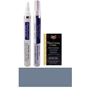 Oz. Rialto Blue Metallic Paint Pen Kit for 1990 Mitsubishi Precis
