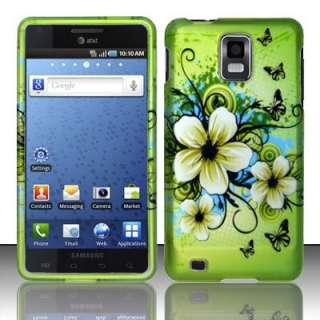 Samsung Infuse 4G i997 Hawaiian Flower Hard Case Cover + Screen