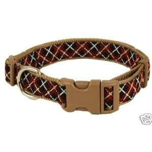 Douglas Paquette Nylon Dog Collar PICCADILLY 3/8x7 10