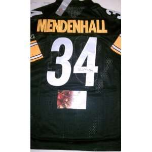 Rashard Mendenhall Signed Authentic Pittsburgh Steelers Jersey Size 52