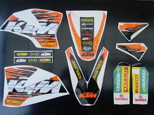 KTM SX 65 2008 GRAPHICS   STICKERS   DECAL KIT