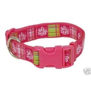 Douglas Paquette Nylon Dog Collar MADRAS 1x18 26