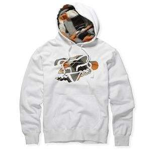 Fox Racing Quasimoto Hoody   One size fits most/Smoke
