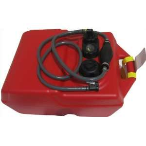 6 Gallon Boat Portable Fuel Tank Mercury Hose Assembly