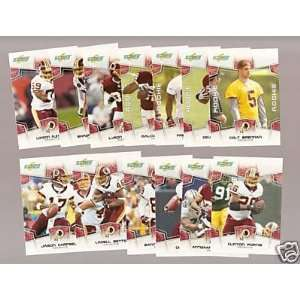 of 14 cards including Clinton Portis, Colt Brennan rookie and more