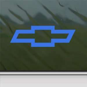 CHEVROLET CHEVY BOWTIE Blue Decal Truck Window Blue Sticker