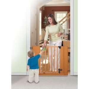 Sure & Secure® Deluxe Wood Walk Thru Gate Baby