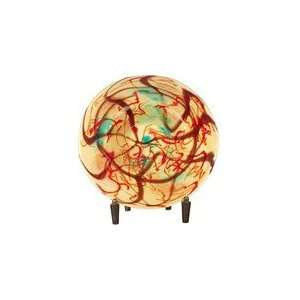 Dale Tiffany Glass Illuminations Charger with Stand