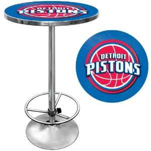 NBA Chrome Pub Table   Game Room Products Pub Table NBA Everything