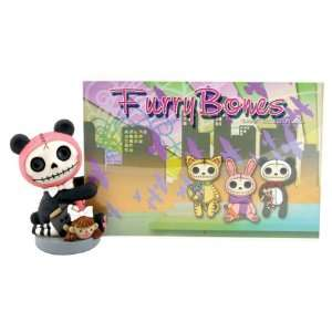 Pink Pandie the Panda Bear Picture Holder (H 4 x W 2 x