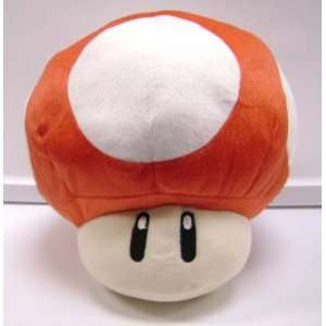 Super Mario Bros. LARGE 13 inch RED MUSHROOM PLUSH Toys