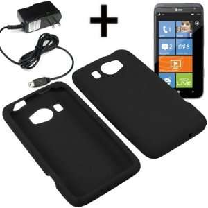 AM Soft Sleeve Gel Cover Skin Case for AT&T HTC Titan II