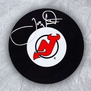 Joe Nieuwendyk New Jersey Devils Autographed/Hand Signed Hockey Puck