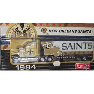 New Orleans Saints 1994 NFL 1/87 Diecast Tractor Trailer Ford