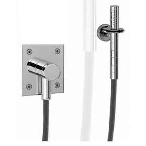 Gyro Wall Mount Hand Held Shower and Bracket Finish Polished Chrome