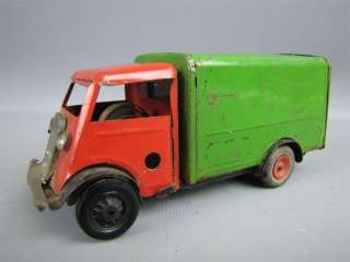Vintage TRI ANG MINIC Express Truck Wind Up Tin Toy