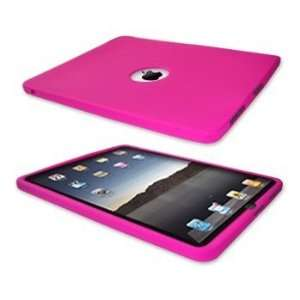 Hot Pink Silicone Case / Skin / Cover for Apple iPad