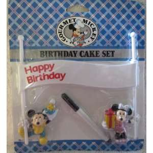 Mickey and Minnie Mouse Birthday Cake Set Toys & Games