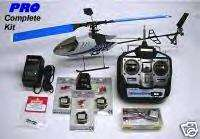 COMPLETE KIT IKARUS PICCOLO PRO ELECTRIC RC HELICOPTER