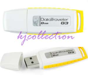 Kingston 8GB 8G USB Flash Pen Drive DataTraveler DT G3