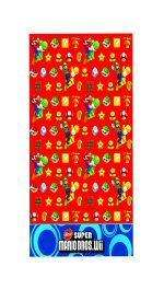 Super Mario Bros Wii Party Tablecover   138 x 183cm
