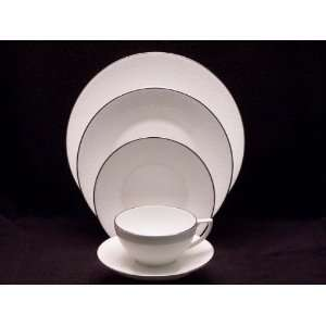 Whitework Four 5 Pc Place Setting(s) W/ Lunch Plate