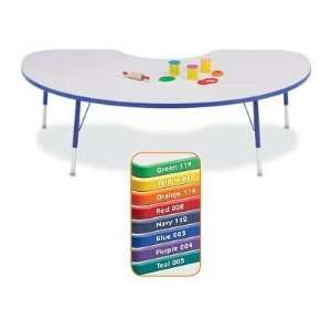 Rectangle Jonti Craft KYDZ Color Band Classroom Table