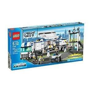 Lego City Police Command Center Toy (7743) Toys & Games