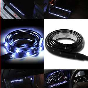 WHITE LED Lighting Strip Sticker 120cm (48in) long with 60