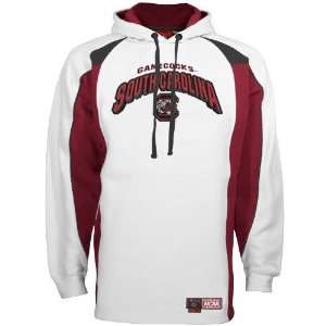 South Carolina Gamecocks White Roster Hoody Sweatshirt