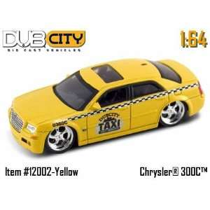 Jada Toys 1/64 Scale Diecast Dub City Kustoms Chrysler 300c in Color