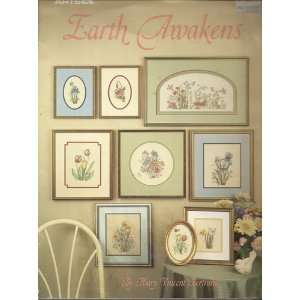 LEISURE ARTS EARTH AWAKENS COUNTED CROSS STITCH