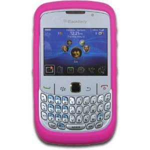 8500, 8510, 8520, 8530 Hot Pink Silicone Skin Case