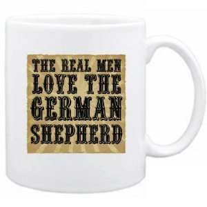 New  The Real Men Love The German Shepherd  Mug Dog