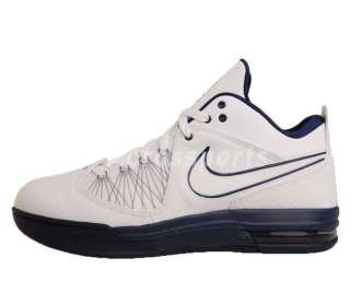 Nike Air Max Ambassador IV 4 White Navy LeBron James Basketball Shoes