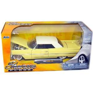 1963 Cadillac 2 Door Coupe Hard Top 124 Scale (White