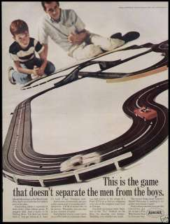 1966  Aurora Slot Car Track Ad Pee Wee Grand Prix