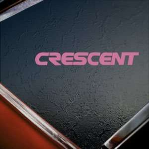 Decal Racing Crescent Truck Window Pink Sticker Arts, Crafts & Sewing