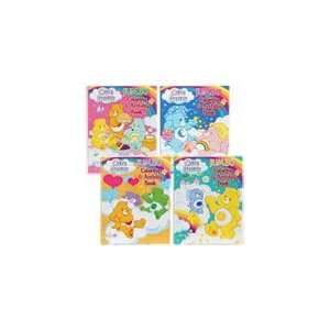 Lot of 4 Care Bears Jumbo Coloring & Activity Books Toys & Games