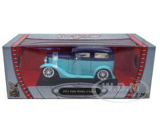 Brand new 118 scale diecast car model of 1931 Ford Model A Green