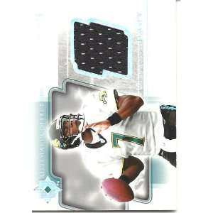Byron Leftwich 2004 Ultimate Collection Game Jersey Card