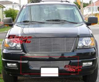 03 06 Ford Expedition Bumper Billet Grille Insert