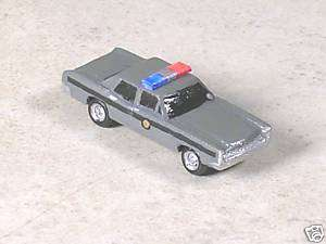 Scale 1969 Gray Ford State Police Car