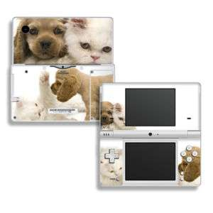Nintendo DSi Skin Cover Case Decal Cat and Puppy Dog