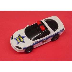 Tyco   Camaro Police Car White/Black (Slot Cars) Toys & Games