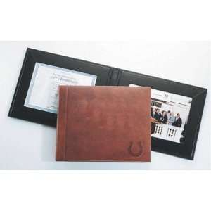 Indianapolis Colts Black Leather Dual Picture Frame